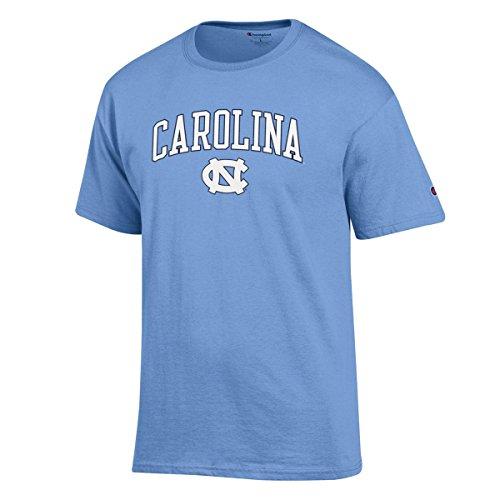 North Carolina Tar Heels Wordmark And Logo T-Shirt L