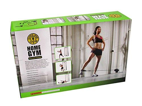 Gold's Gym Total Body Resistance Training Exercise Program Attached