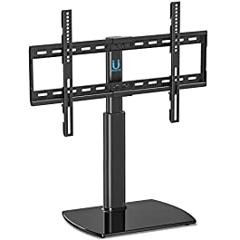 Fitueyes Universal TV Stand Base Swivel Tabletop T...