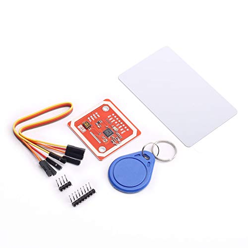 DEVMO PN532 NFC NXP RFID Module V3 Kit Near Field Communication Reader Module Kit I2C SPI HSU with S50 White Card Key Card Compatible with Arduino Raspberry Pi DIY Smart Phone Android Phone