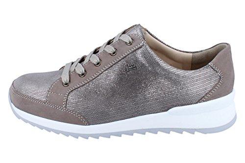 Mujer Finn de para Comfort Cordones 02377 Zapatos Piel de 901788 wPFHqw7z