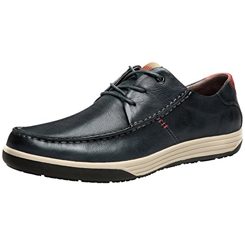 Scarpe Da Uomo Per Il Tempo Libero In Pelle Tendine/Vestito/Autunno/Business/Wedding/Moda/Slip On/Marrone-nero Blu