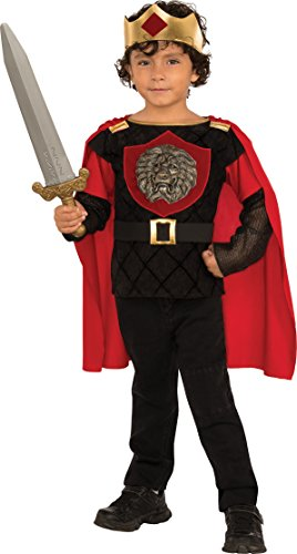 Rubies Costume Child's Little Knight Costume, Small, Multicolor - Little Boy Prince Costume