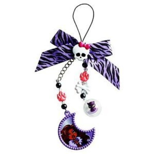 Monster High Clawdeen Wolf Creeperific Charms - Clawdeen Wolf & Crescent (Laguna Blue Monster High)