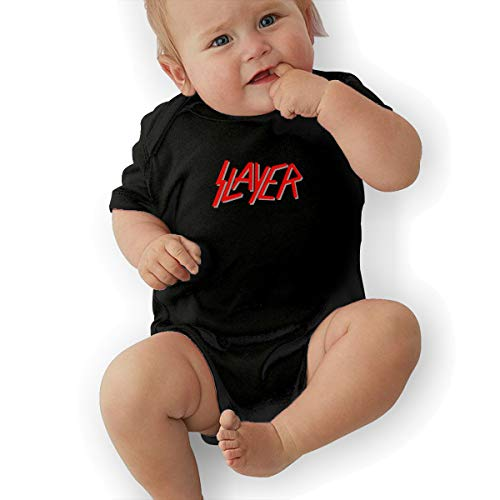 Bodysuit Baby, Slayer Rock Band Best Baby Bodysuit Baby Clothes Black