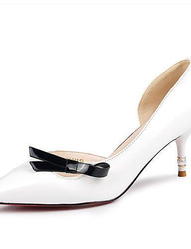 GGX/Damen Schuhe Kunstleder Stiletto Heel Heels Heels Party & Abend/Kleid/Casual Rosa/Weiß/Beige beige-us8 / eu39 / uk6 / cn39