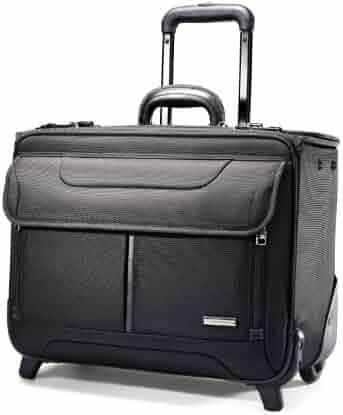 Samsonite Luggage Wheeled Catalog Case, Black