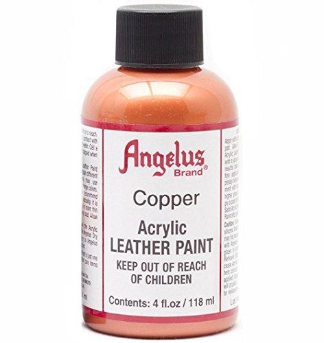 (Angelus Leather Paint 4 Oz Copper)