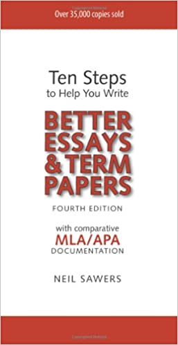 Amazoncom Ten Steps To Help You Write Better Essays  Term  Ten Steps To Help You Write Better Essays  Term Papers  Th Edition Th  Edition