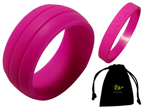Silicone Wedding Wristband Storage Quality