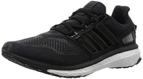 adidas Energy Boost 3, Scarpe da Corsa Uomo Nero (Core Black/Dark Grey/Dgh Solid Grey)