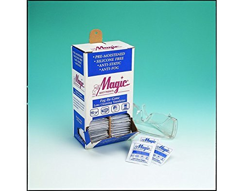 Magic Fog Be Gone Lens Cleaning Towelette - Anti-Fog - TW100DS [PRICE is per DISPENSER]