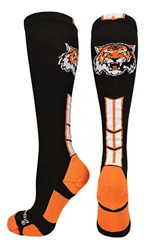 MadSportsStuff Tigers Logo Over the Calf Socks – DiZiSports Store
