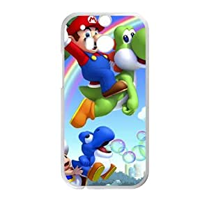 Super Mario Bros For HTC One M8 Csae protection phone Case FXU330343