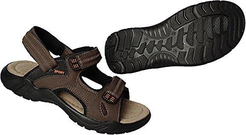 Herren Sandalette Outdoorsandale Schuhe Trekking Sandale Gr.47 - 50 Art.-Nr.9001 braun