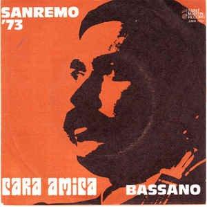 Vinyl 7 Cara Amica Lamore Mio Abbraccia Il Mondo Antonio