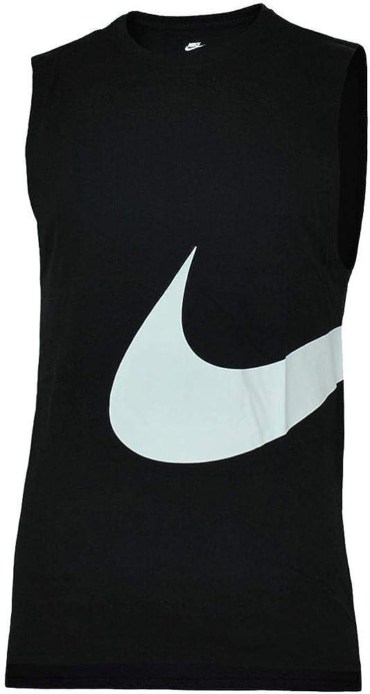 NIKE Hybrid Swoosh Logo Vest Hombre Deporte Fitness Camisa Camiseta Rojo