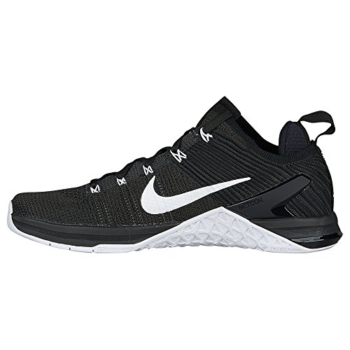 Donna White NIKE Nero Scarpe Flyknit Metcon Wmns 2 Black 001 Dsx Running aaqw0Rp