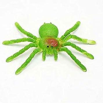 Gaocheng 1 Pcs Wood Prank Spider Scare Box Case Joke Realistic Funny Surprise Gag Toys