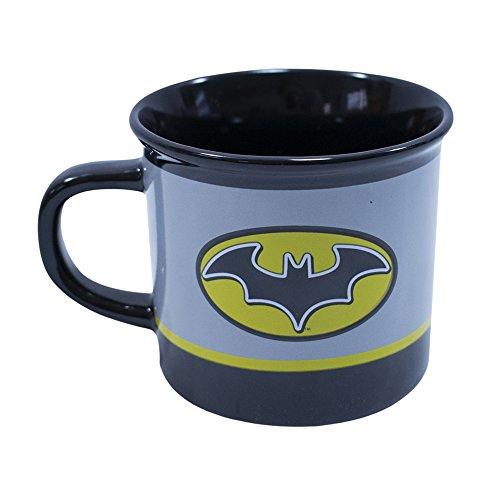 Caneca De Porcelana Batman 400ml - Liga Da Justiça