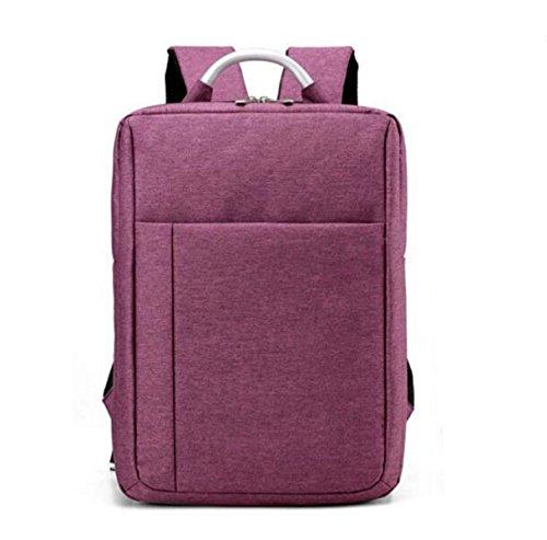 Bolso De Hombro Bolsa De Viaje Al Aire Libre Negocio De Ordenador Bolsa De Ocio De Moda Salvaje Purple
