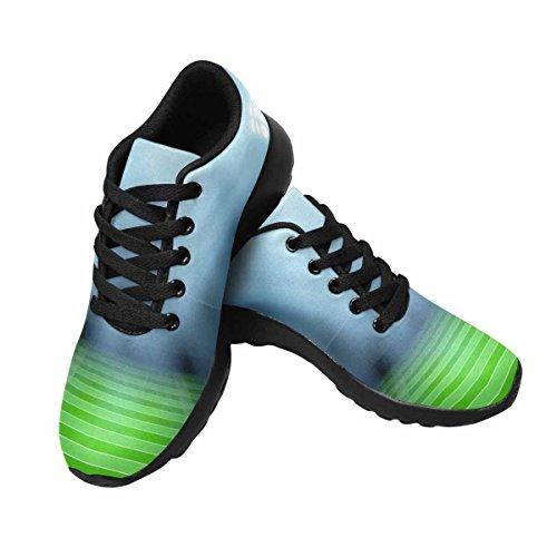 D-Story Jogging Running Sneaker American Football Stadium Womens Casual Comfort Sports Walking Running Shoes Black 6Lg0C