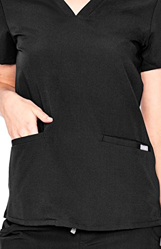 79f5418ab93 FIGS Casma Three-Pocket Scrub Top for Women – Tailored Fit, Super Soft  Stretch, Antimicrobial, Anti-Wrinkle Medical Scrub Top