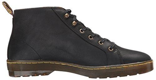 Black Leather Coburg Dr Martens Mens Wyoming Boots x6wqBTUYB