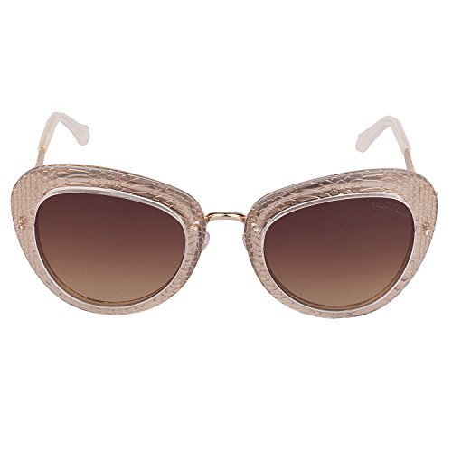 Roberto Cavalli Sunglasses RC918S-A/S 26F Gold Beige Snake Print Frame Brown - Sunglasses Roberto Snake Cavalli