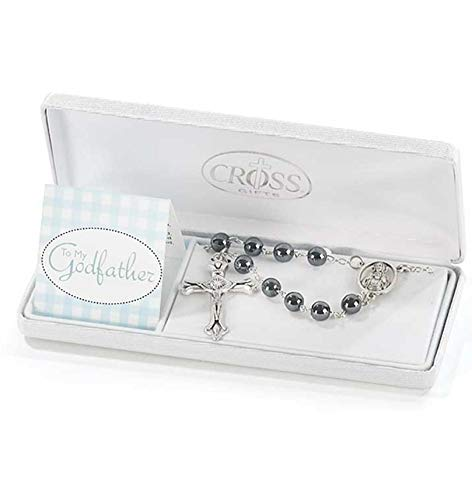 To My Godfather Rosary in Gift Box ()