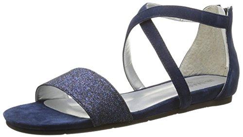 Martin de Jb Nuit Mujer vestir Sandalias Jamal T Saphir Azul Vel Bleu Che Paillete CfCtdaqw