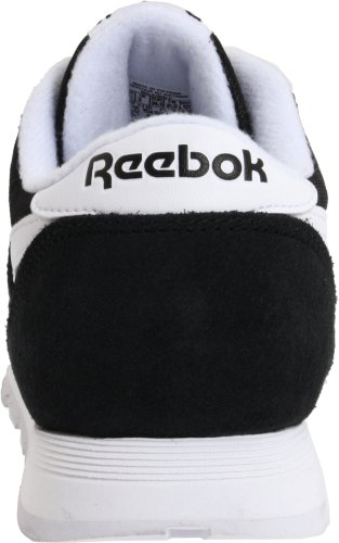 Black White 0 Unisex Black Classic Running Trail Shoes Reebok Kids' Nylon 0qxcy1Rf