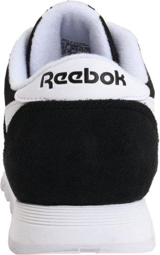 Bambini black Scarpe Running white – Trail Da Nero Reebok Unisex Classic Nylon q8waxOA