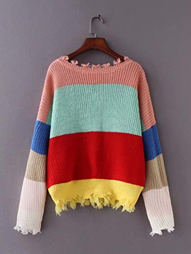 Cuello Otoño Mujeres V Oversized Jumper Mujer Sexy En Color Profundo Drhgksp The Sueter Hit Suéter Casual Pullover wq4tBxXA