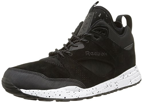 Reebok Ventilator Mid - Zapatillas de running Hombre Negro - Noir (Black/White/Dark Sil)