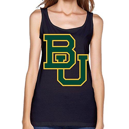Women's NCAA Baylor Bears Football LOGO Tank Top-Black (Hair Replacement Program compare prices)