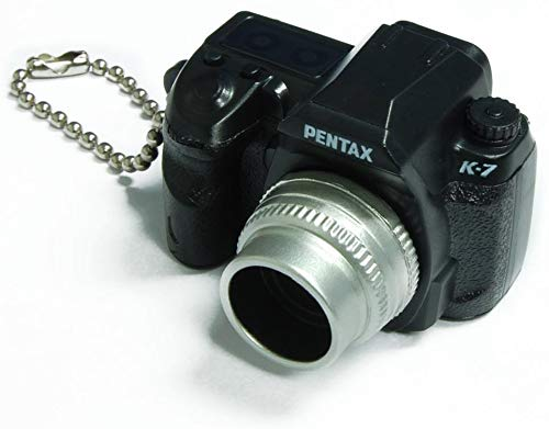 (Takara Tomy Pentax Capsule Mini Camera Keychain K-7 Black Camera)