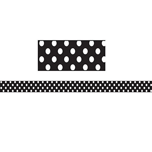 ASHLEY PRODUCTIONS MAGNETIC MAGI-STRIPS WHITE DOTS (Set of 3)
