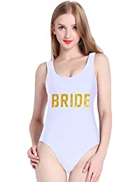 Cute One Piece Swimsuit with High Cut and Low Back for...