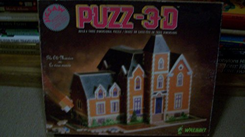 PUZZ-3D The Old Mansion 426 Piece Puzzle by Wrebbit