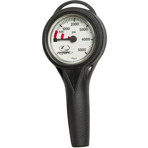 Zeagle Slimline Pressure Gauge Imperial, 32'' (81.3cm) Hose by Zeagle