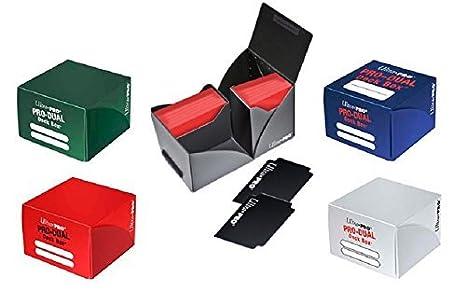 Amazon Com Ultra Pro 5 Deck Box Combo Pro Dual 180 Deck Boxes