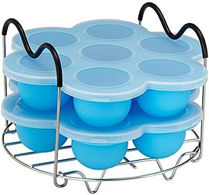 Moldes de silicona premium para hueveras, accesorios instantáneos ...