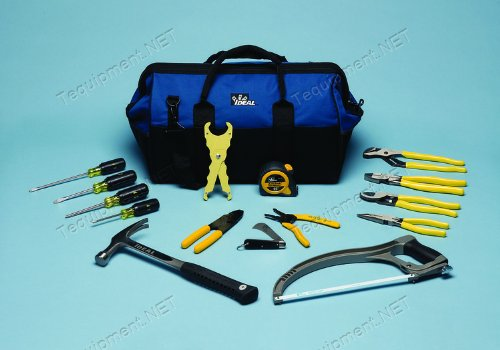 Ideal Industries, Inc. 35-808 Large Mouth 20 Inch Tool Kit
