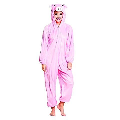 Boland Costume Adulto Taglia Unica Max 1,95m Colore Rosa BOL88107