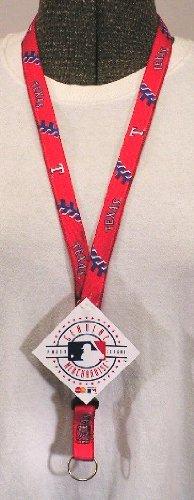 Hunter Texas Rangers MLB Lanyard with Detachable Key Ring