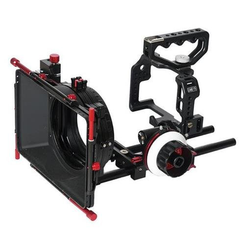 Came-TV Protective Cage for GH4 Camera with Matte Box Follow Focus by CAME-TV