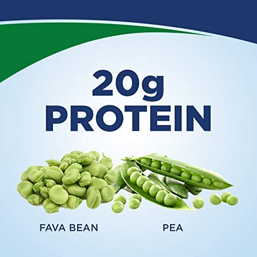 Ensure 100% Plant-Based Vegan Protein Nutrition Shakes with 20g Fava Bean and Pea Protein, Vanilla, 11 fl oz, 12 Count 2
