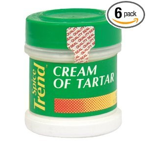 Spice Cream Of Tartar 1.10 OZ (Pack of 12) by Spice Trend