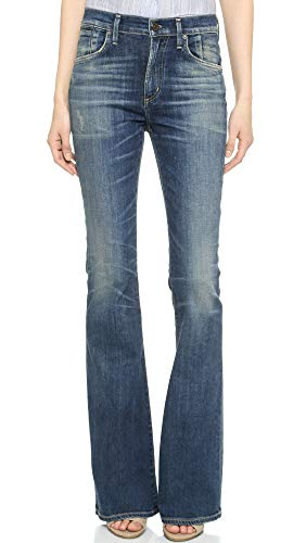 Premium Vintage Fleetwood Petite High Rise Flare in Harvest Moon - Size 27 from Citizens of Humanity